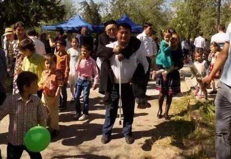 Житель Казахстана Дня Победы