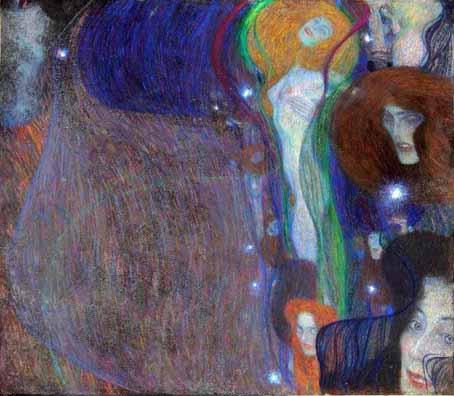 Густав Климт. «Призрачные огни» 1903