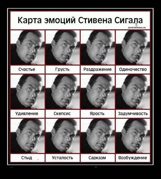Стивен Сигал Русский демотиватор