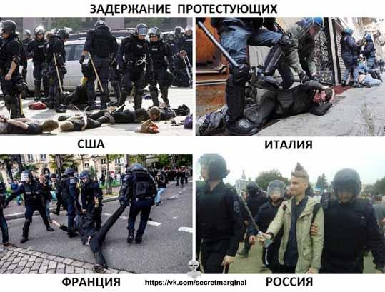 Митинги в других странах