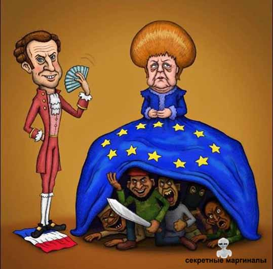 Меркель и мигранты