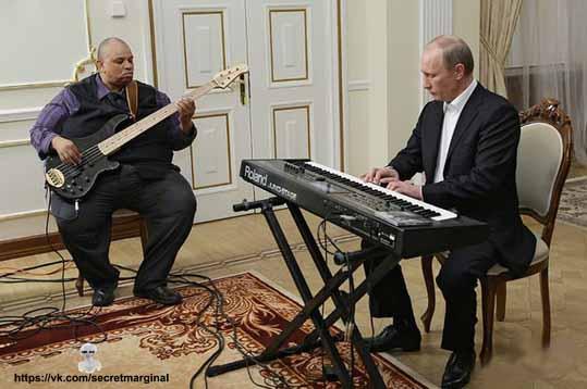 Путин готовится к Дню России.