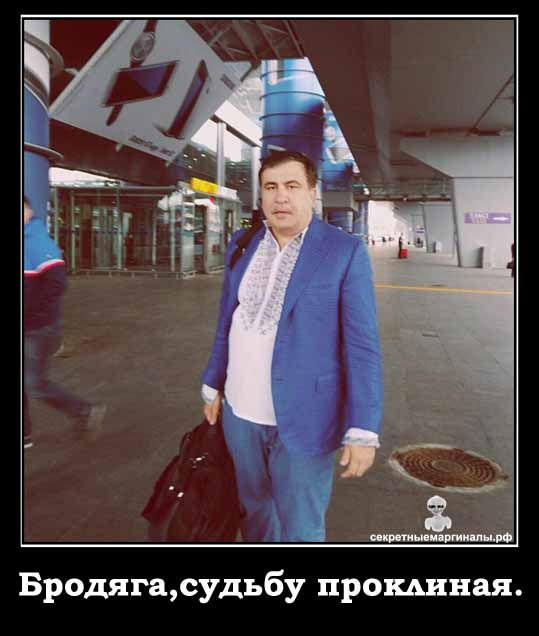 Демотиватор Саакашвили