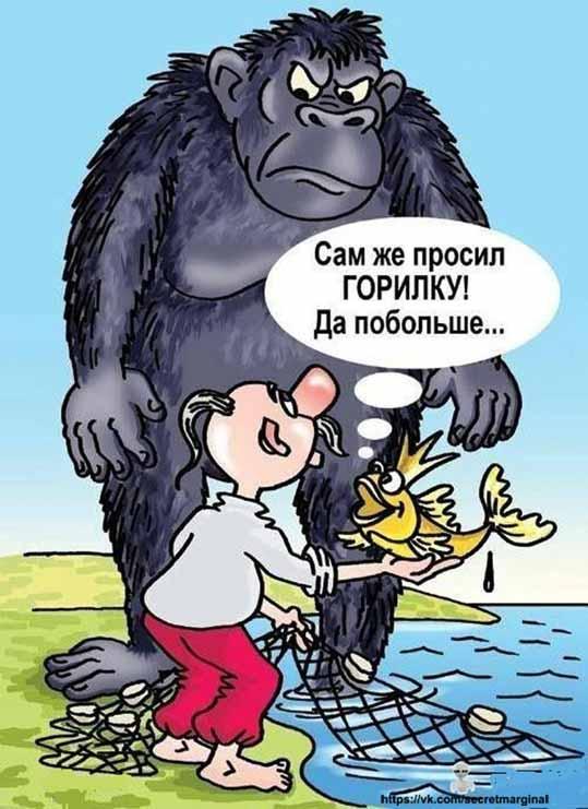 Хохол и горилка