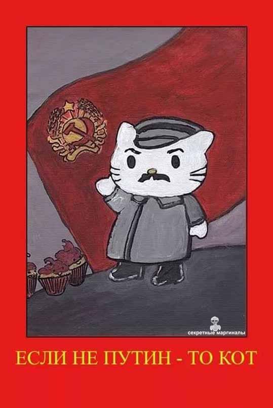Демотиваторы про Путина