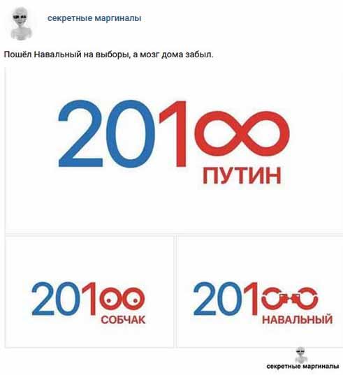 Анекдоты про Путина и Выборы