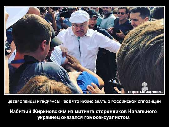 Жириновский избил