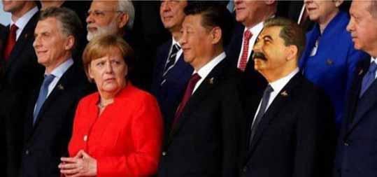 Сталин и Меркель