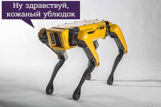 щенок робот