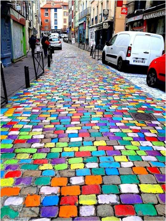 цветная дорога