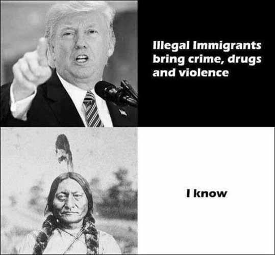 Трамп о эмигрантах