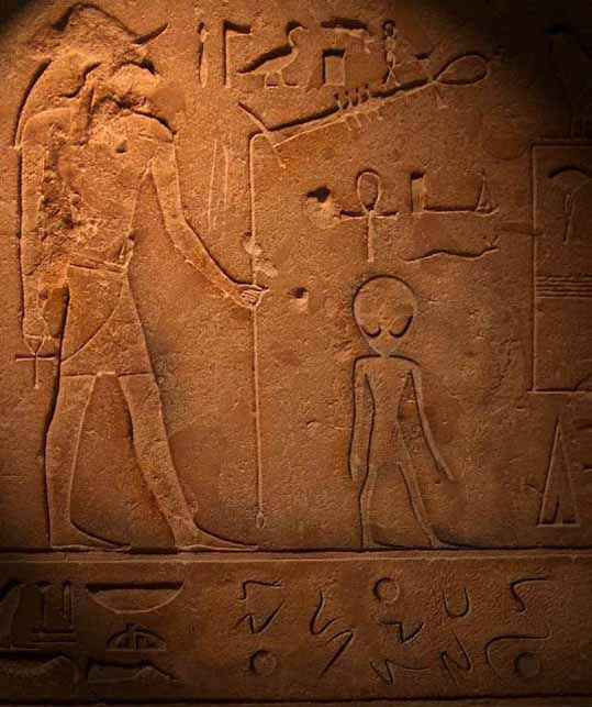НЛО в Египте