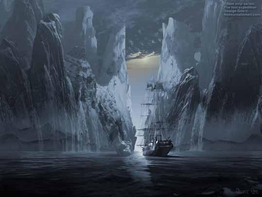 Корабль в фьёрде