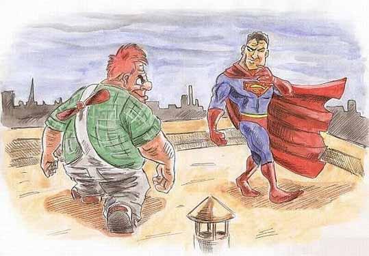 Карлсон и Супермен