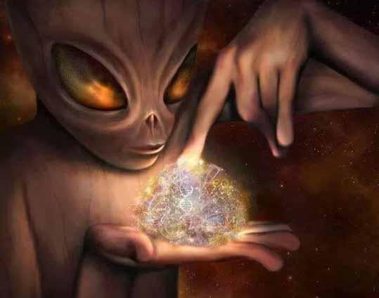 Пришелец и космос