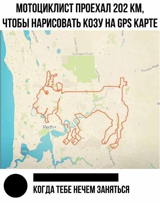козел на карте
