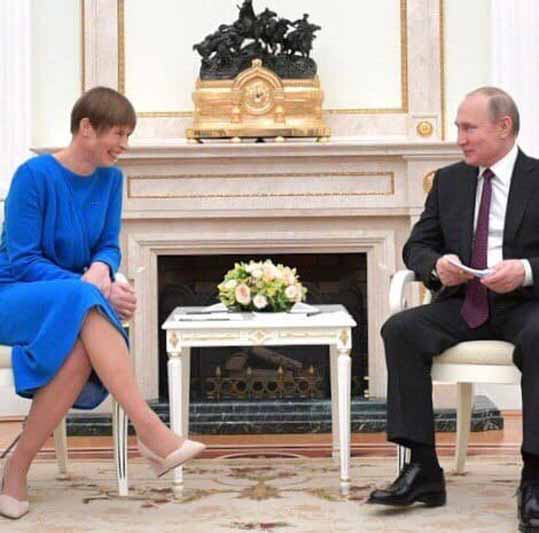 Путин и прибалты