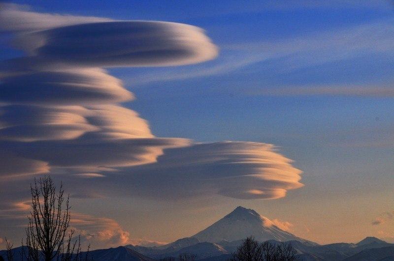 необычные облака на камчатке фото новые лоты разделе