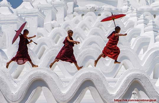 Монахи Шао Линь