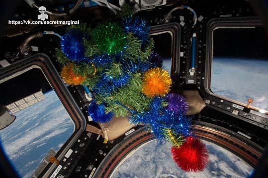 новый год космос