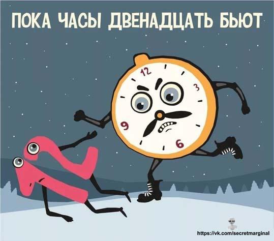 часы бьют