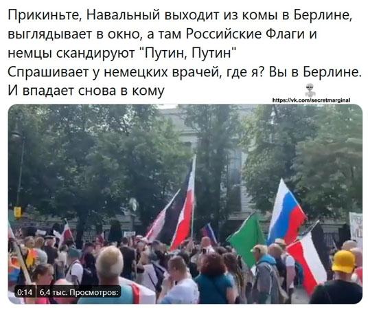 Навальный из комы