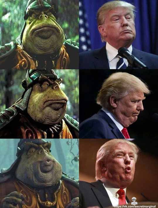 star wars Trump