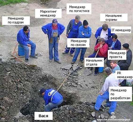 Вася и команда